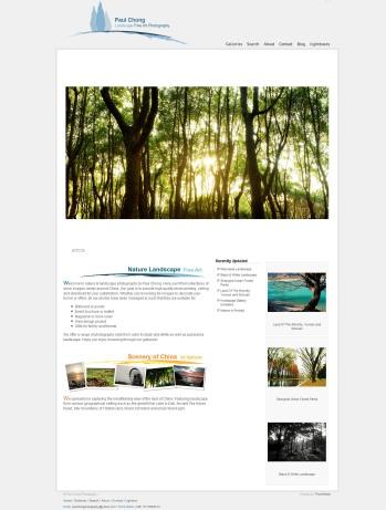 Landscape Photography Website
