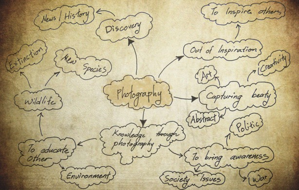 What brings value to your image photography bubble diagram