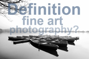 Definition of fine art photography