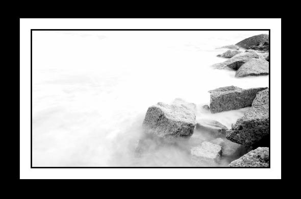 Rocks by the seaside