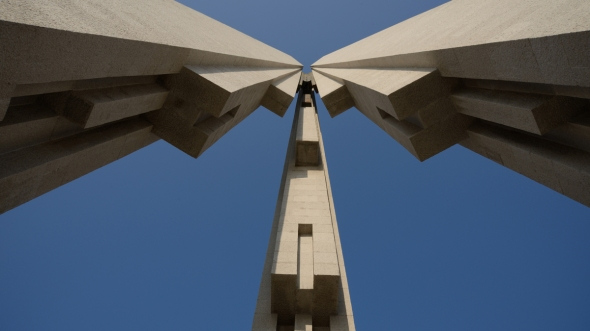 Shanghai Monument and Iconic Tower, Abstract Architecture Photography