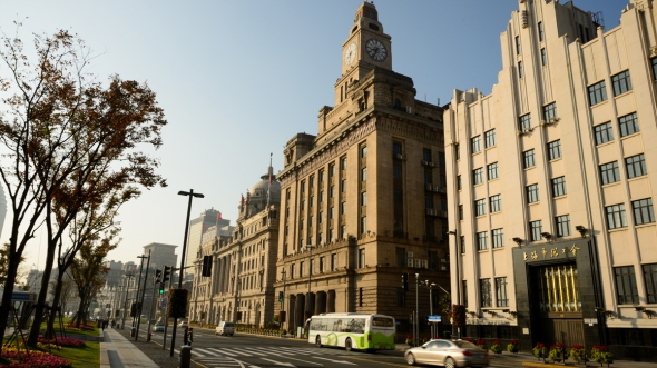 The Bund Old Architecture Building Photography