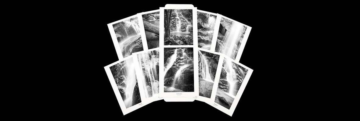 Photo Folio Collection Fine Art Photographs of Waterfall