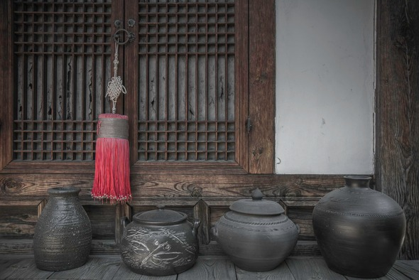 Decorative Pots of Seoul City
