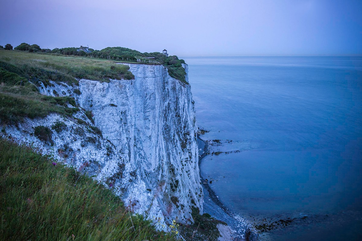 Evening White Cliff