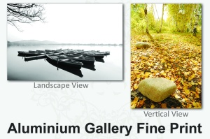 Fine Art Aluminium Gallery Photo Print