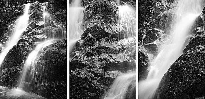 Amazing nature waterfall landscape photography