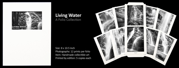 Living Water, Art Folio Photograph Print Collection