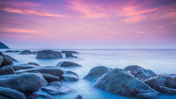 Velvet Horizon, evening photography