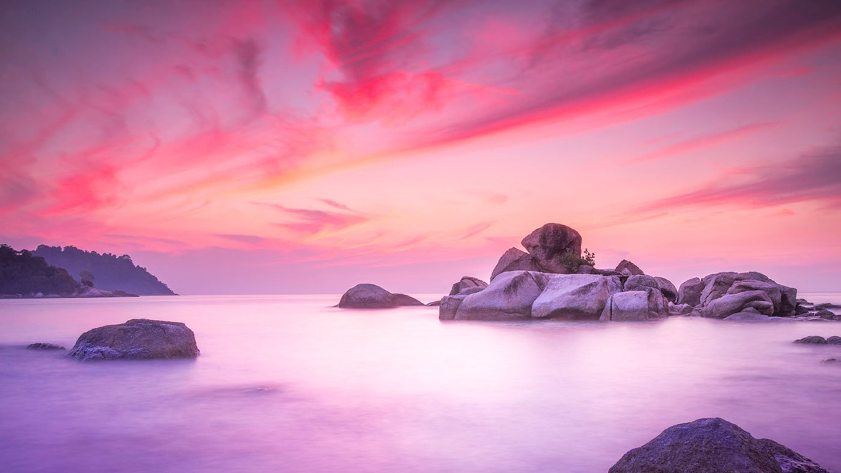 The Painted Sky, landscape fine art photography
