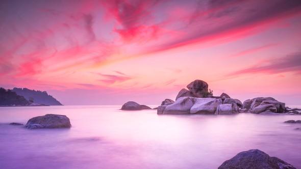 The Painted Sky, landscape fine art photography