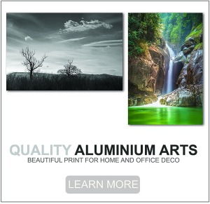 Quality Aluminium Print for Home and Office Deco
