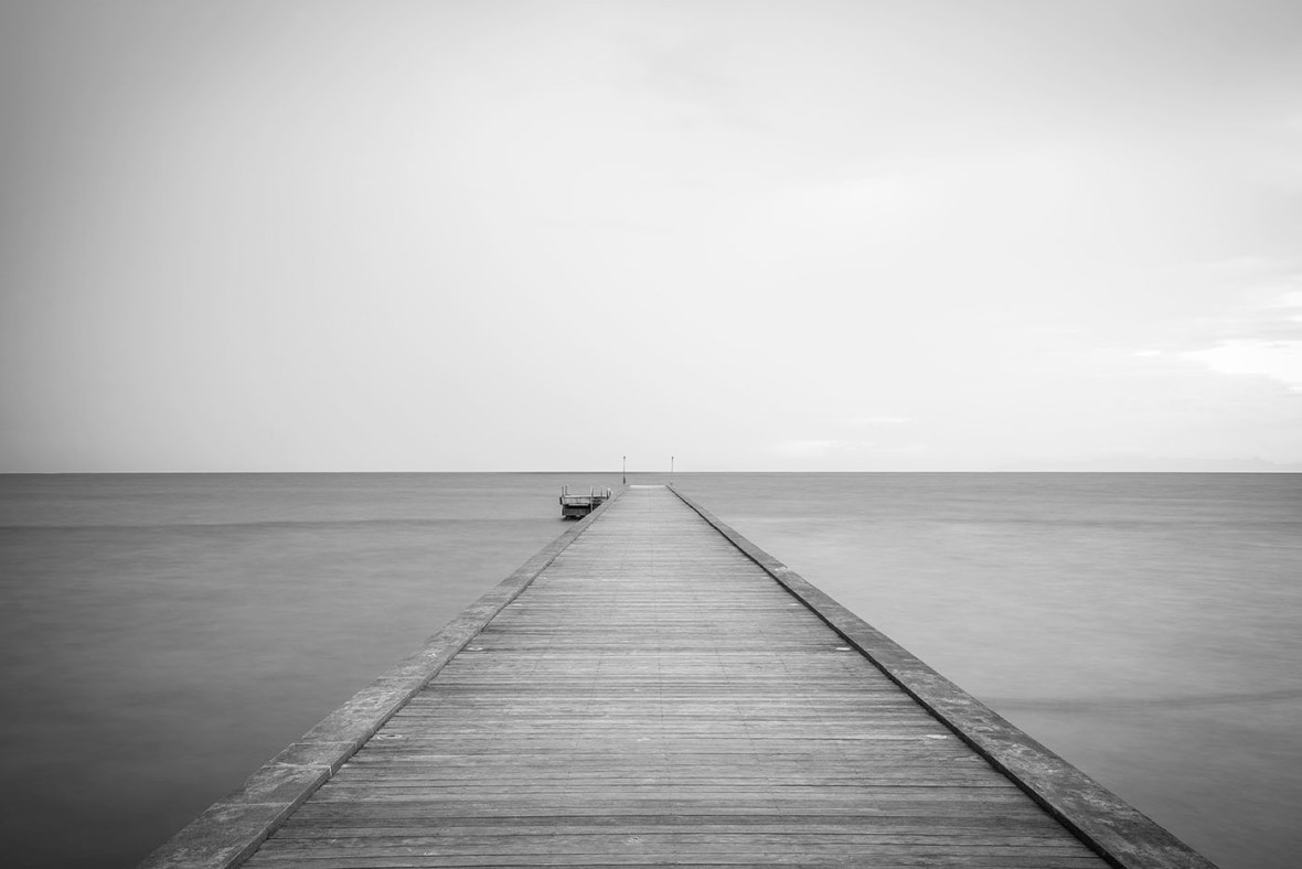Black and white minimalism photography
